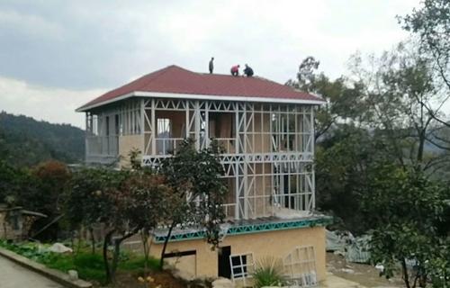 重庆巴南私人轻钢别墅项目